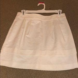 Forever 21 white pleated skirt